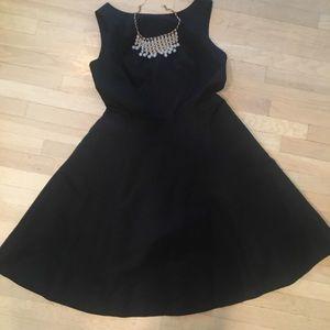 Isaac Mizrahi for Target Black Open Back Dress
